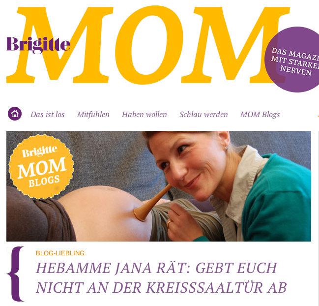 Blogliebling bei Brigitte MOM