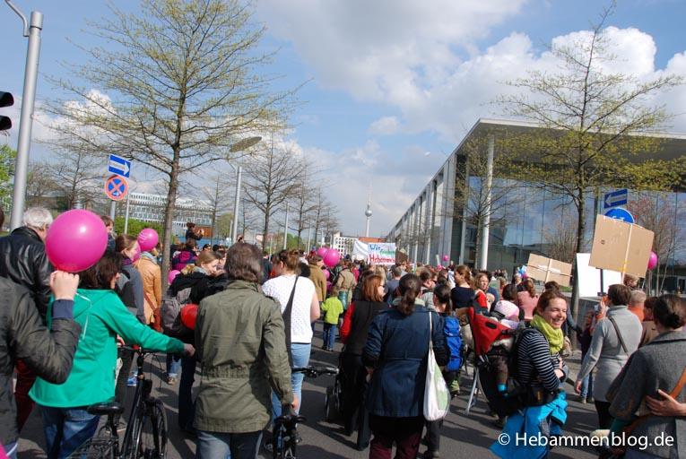 Protestmarsch Berlin