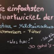 Quarkwickel-Anleitung bei Milchstau