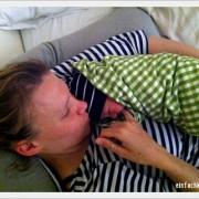 Baby aus Hypnobirthing Hausgeburt