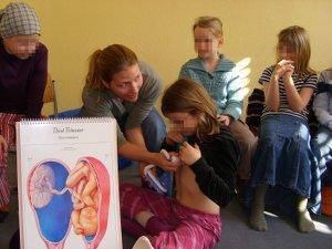 Hebammen-Unterricht: Herztöne hören