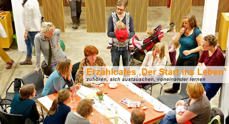 """Erzählcafe-Aktion: """"Start ins Leben"""""""