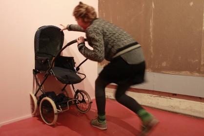 Kinderwagen im Mach mit Museum