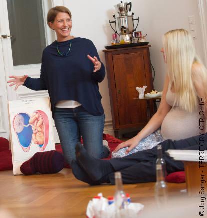 Ausstattung Geburtsvorbereitungskurs: Birth-Atlas