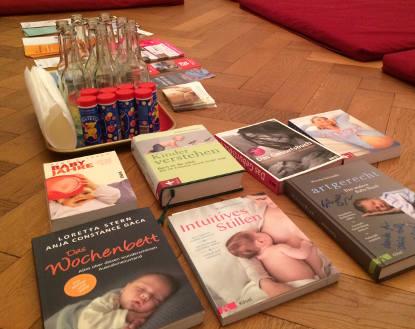 Ausstattung Geburtsvorbereitungskurs: Seifenblasen