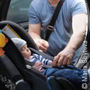 Sicher im Auto: Nur mit Babyschale