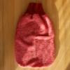 Baby-Strampelsack von Cosilana: rot-melange