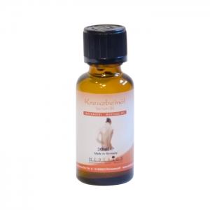 Kreuzbein-Öl gegen Rückenschmerzen