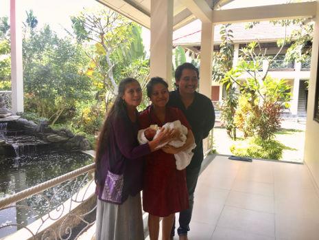 Happy Family mit Robin Lim auf Bali