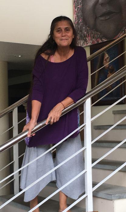 Robin Lim in der Bumi Sehat Foundation auf Bali