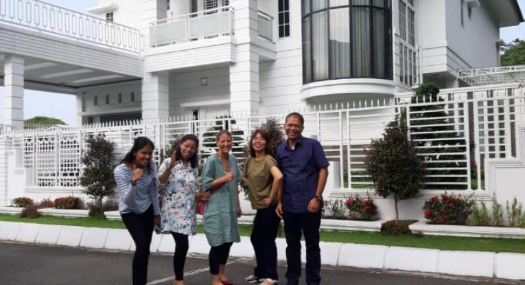 Villa für Gäste der Uni in Medan