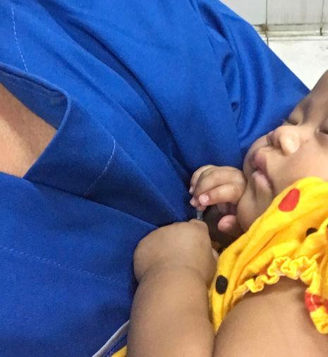 Krankenhaus-Baby Malika