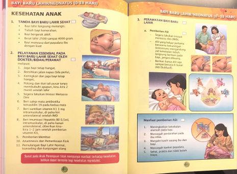 Indonesischer Mutterpass: Erstversorgung & Stillen