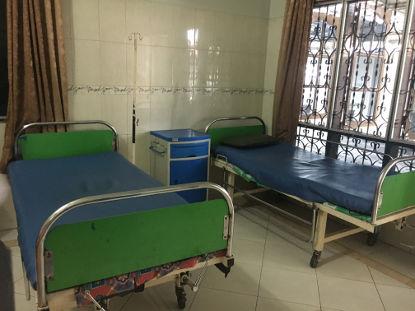 Kreissaal im Geburtshaus in Indonesien