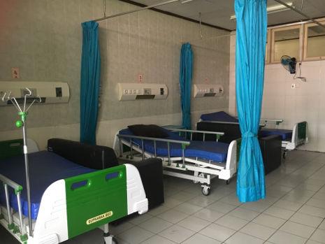 Die 3. Klasse im Krankenhaus von Medan