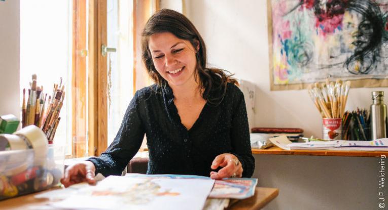 Kunsttherapie - Ein Interview mit Hannah Elsche