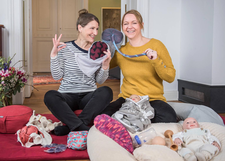 Online Zwillings-Geburtsvorbereitung zum streamen