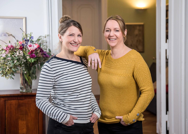 Online-Geburtsvorbereitung für Zwillinge mit Jana Friedrich & Inga-Sarrazin